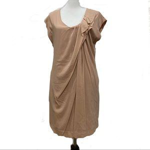 Haute Hippie Blush Silk Dress Size Large